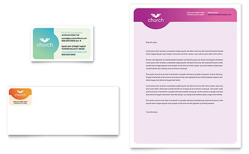 Church Letterhead Template  Download    Letterhead