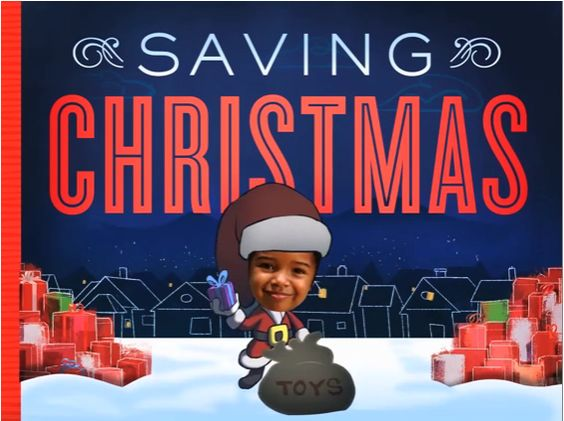 Saving Christmas: An interactive ebook starring your own kids, from the folks behind JibJab.