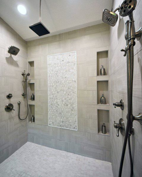 Top 70 Best Shower Niche Ideas Recessed Shelf Designs Tile