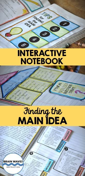 Finding the main idea in a reading passage is one of the fundamental skills of a reader. That's why it is essential to give students an opportunity to learn HOW to do just that!  This interactive notebook resource is designed to help students practice and master the skill of identifying the main idea in a passage. Students will progress through 3 days of engaging and fun lessons while they showcase their learning with over 20 interactive shapes!