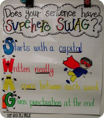 Does your sentence have superhero SWAG?