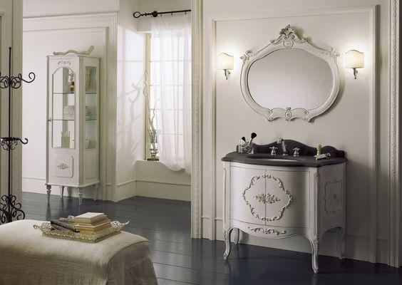 Мебель для ванных комнат Mobili di Castello: Carved #hogart_art ...