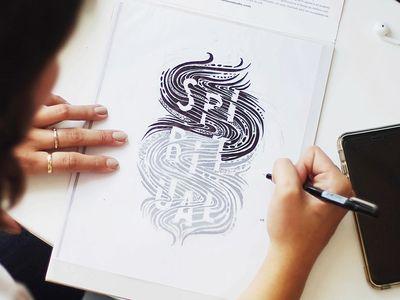 Spiritual Illustration