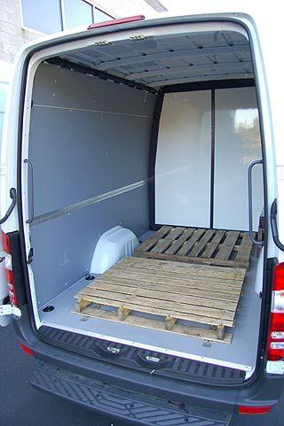 Hanvey Sprinter Expediter Vans On Van For Freight Haulers By Engineering Design LLC