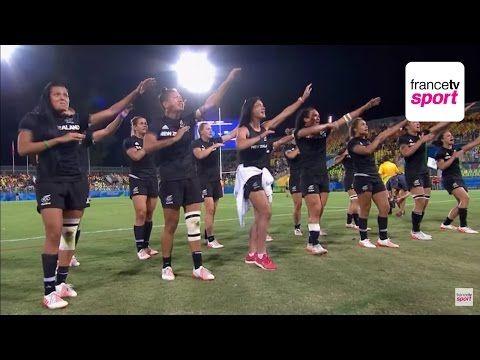 Rugby à 7 : Le Haka au féminin, un instant plein d'émotions - Rio2016 - Jeux Olympiques - France TV Sports - 09/08/2016