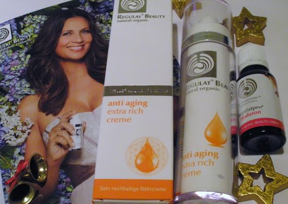 Beauty & Lifestyle Blog für die Frau ab 40: REGULAT BEAUTY natural organic extra rich creme   ...