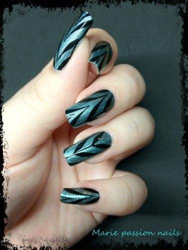 Nail Art Marie passion nails: [ vidéo] Pose de nail tatoo