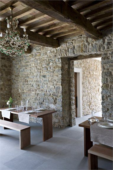 Torre Moravola, Montone, 2008. European Farmhouse and French Country Decorating Style Photos