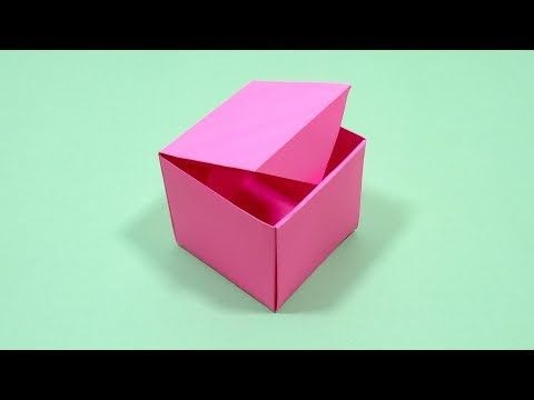 Origami Love Box (Jo Nakashima) - Valentine's Day - YouTube | 360x480