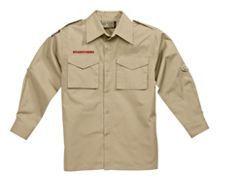 Centennial Boy Scout™ Long-Sleeve Cotton Rich Poplin Uniform Shirt