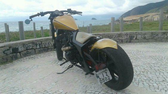 Moto Chopper Custon Antiga 2002 - Ano 2002 - 12000 km - em Mercado Livre