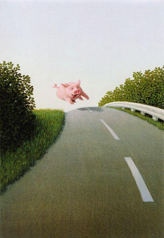 Магистраль. Любимый художник Амели - Михаэль Сова
