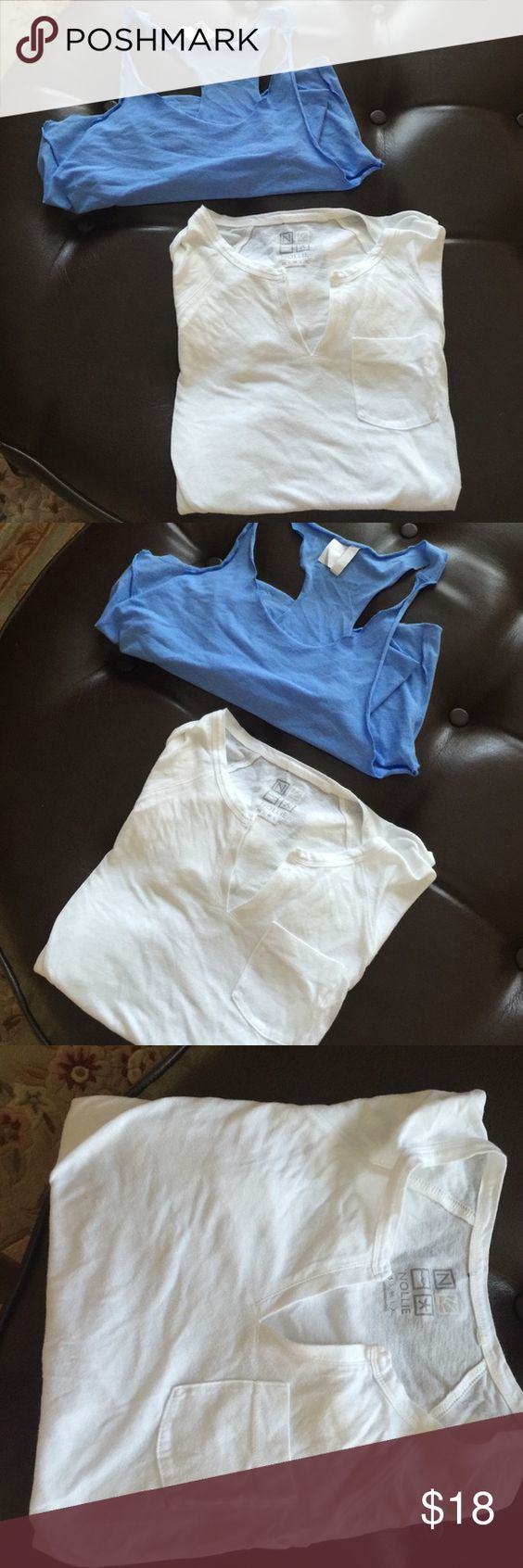 Bundle: White Pacsun Pocket Tee & H&M Muscle Tee Bundle: White Pacsun Pocket Tee & H&M Muscle Tee. Bundle Bundle Bundle ☺️ Both have never been worn, no rips tears or holes. Pacsun and H&M brands . The original price of the Pacsun Tee was 25 and 10 for the Muscle tee so all together the total would be $35 PacSun Tops Tees - Short Sleeve