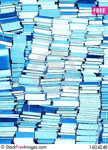 Books Only - Free Stock Photos & Images - 1604248 | StockFreeImages.com