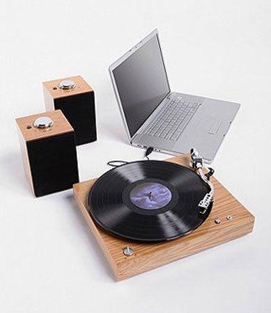 Crosley Audiophile USB Turntable — Vintage and digital together