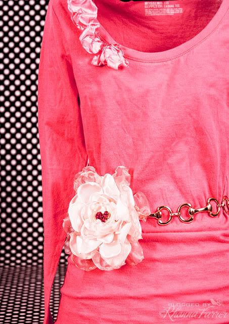 Rhonna DESIGNS: DIY Fabric Flowers for Mother's Day or any day!