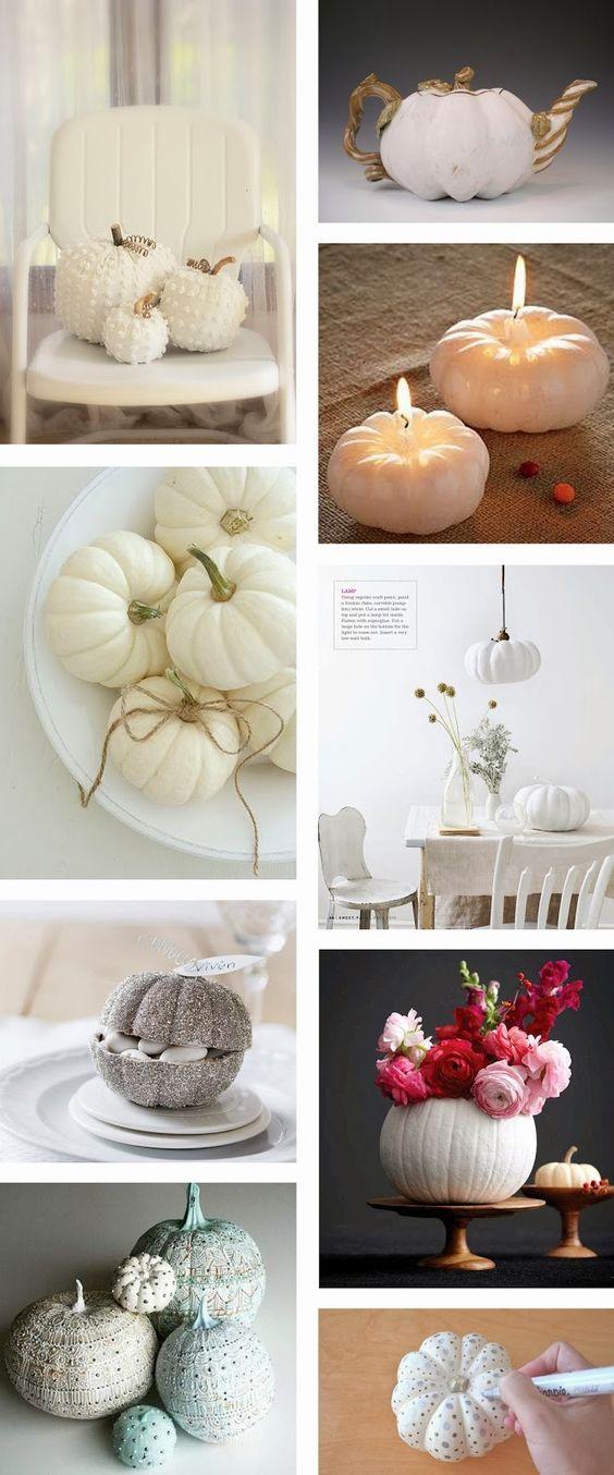 ... CITROUILLE DHALLOWEEN  Au fil des saisons / automne (idées déco
