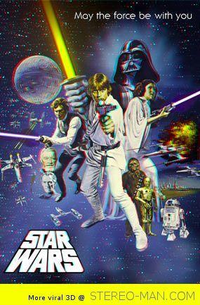 Star Wars 3D Poster