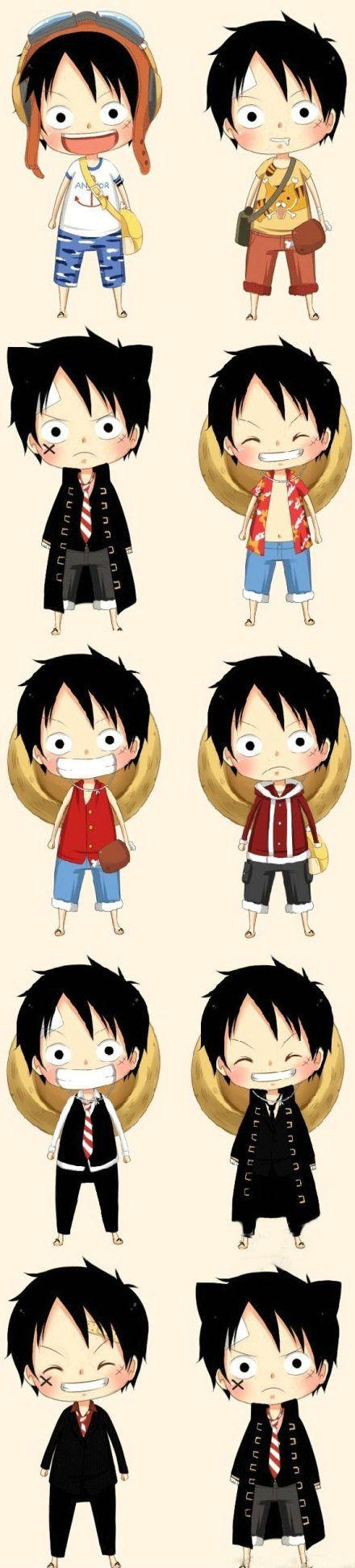 Small Luffy<3<3<3 | One piece | Monkey·D·Luffy #Anime #onepiece #luffy