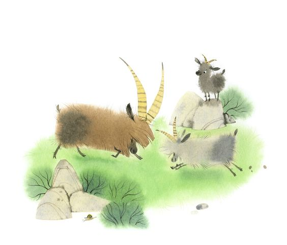 gorgeous illustrations by Nathalie Ragondet