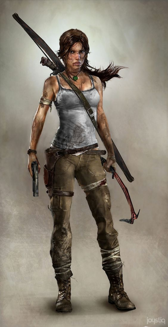 I love the new Laura Croft. No more booty shorts and gigantic chest. She looks much more realistic. The new writer is a woman, and it shows. Nerds need gender equality, too.