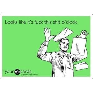 My feelings today...is it 5 yet?!?!