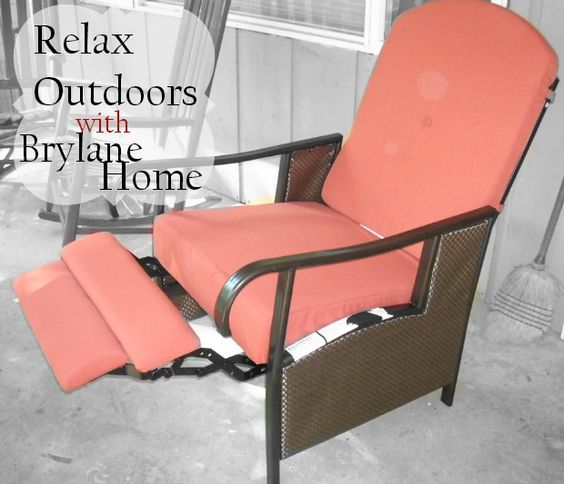 Relax Outdoors with Brylane Home