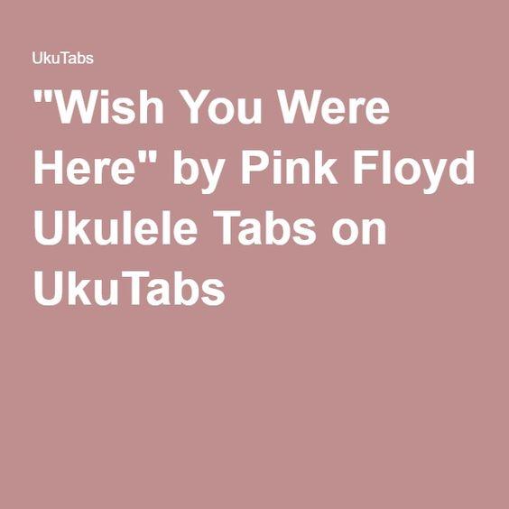 Ukulele ukulele tabs la vie en rose : Pink, Pink floyd and Ukulele on Pinterest
