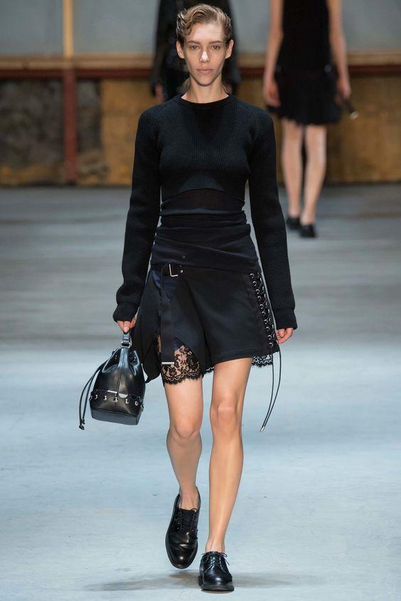 Diesel Black Gold Fall 2015 Ready-to-Wear Fashion Show, Look 13