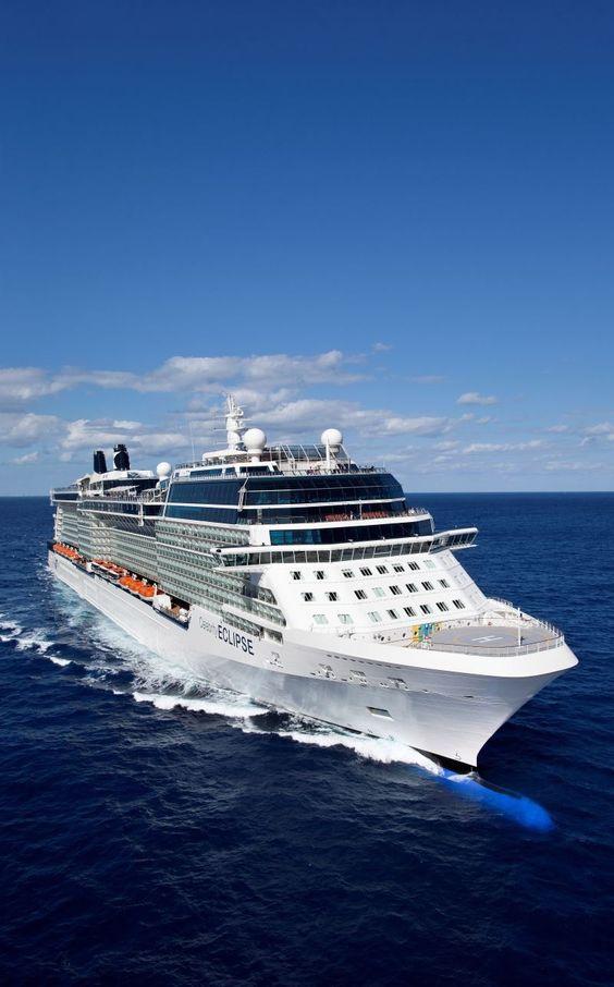 Celebrity Eclipse. Modern luxury ship in the Celebrity Cruises fleet.