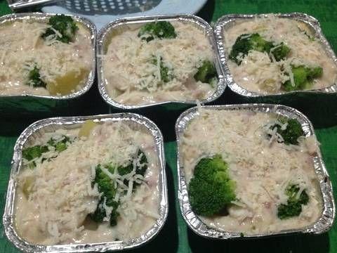 Resep Brokoli Kentang Panggang Keju Oleh Murtiningrum Resep Resep Brokoli Kentang