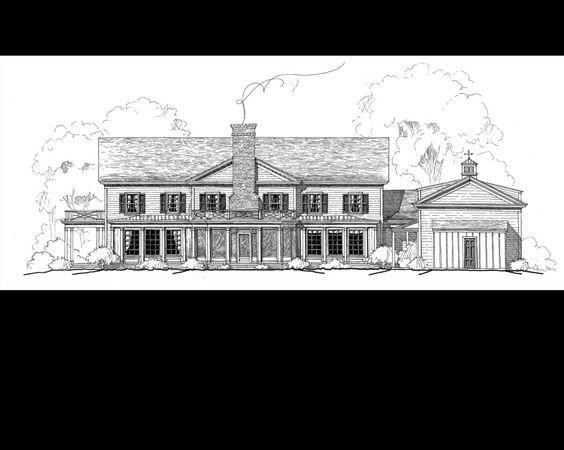 Stephen Fuller Designs - equestrian estate drawings