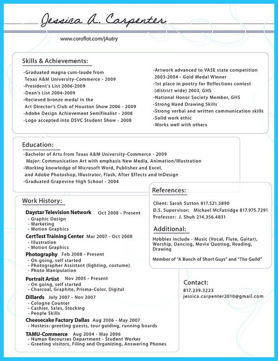 Best 10+ Resume template australia ideas on Pinterest Mount - high school resume objective