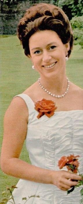 Princess Margaret, countess of Snowdon.