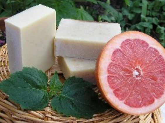 Grapefruit Patchouli Soap by Herbfriend on Etsy
