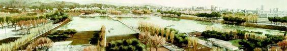 equip BCpN :: Proyectos :: Parque central en Platja d'Aro, el Parc dels Estanys