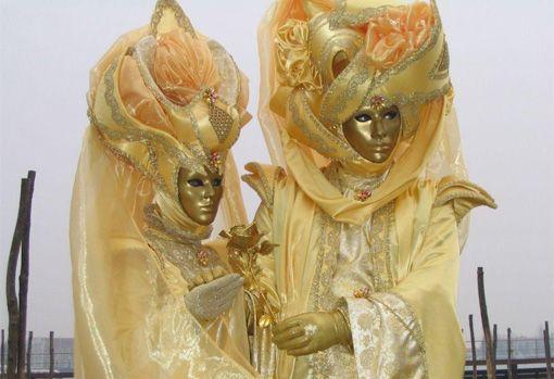 Déguisement du carnaval de Venise