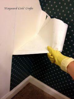 diy wallpaper removal don 39 t forget pinterest diy