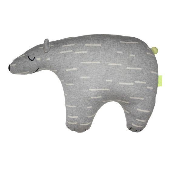 Der graue Eisbär namens KNUT entstammt dem dänischen Label OyOy und wird schnell…