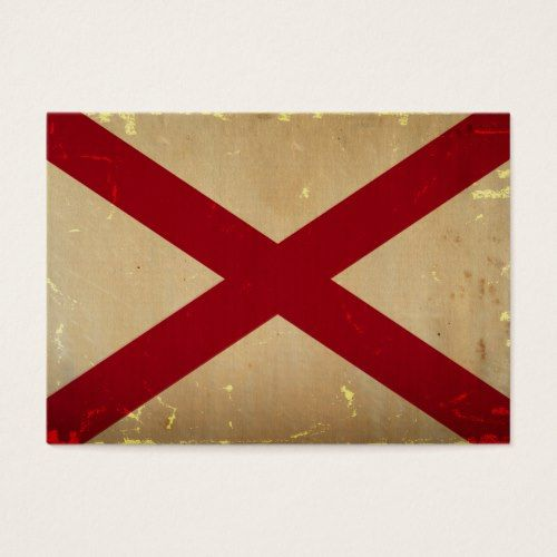 Alabama State Flag Vintage Zazzle Com State Flags Alabama State Printing Double Sided