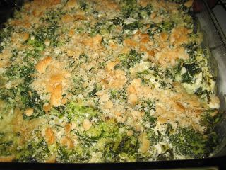 Recipe Tips and Hints: Spinach/Broccoli Casserole (dairy free)