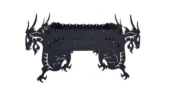 Мангал «Дракон» (разборный) от ООО «РаскройМеталла»
