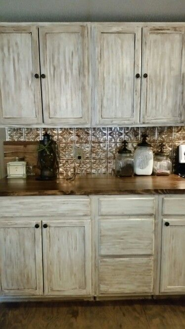 Mobile home remodel in Louisiana. Old New Orleans style kitchen.