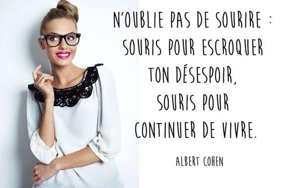 Citation sourire d'Albert Cohen