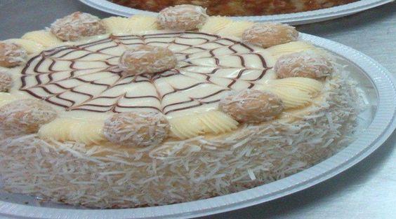 Receita de Torta Beijinho Deliciosa