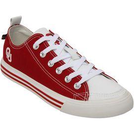 Oklahoma Sooners Snicks Women's Low Top Sneakers