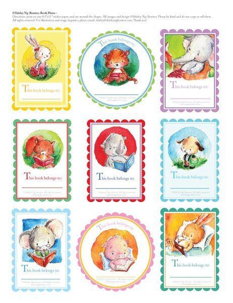 children's book illustrator's printables