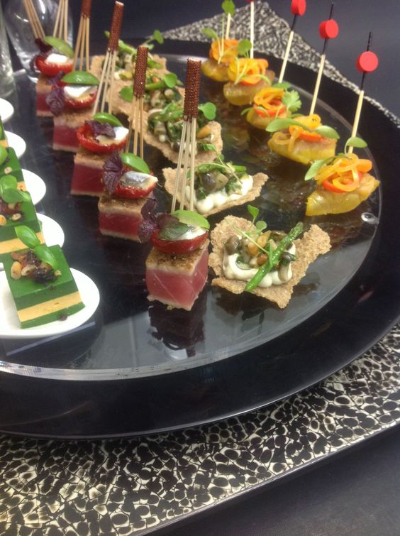 Pinterest the world s catalog of ideas for Gourmet canape ideas