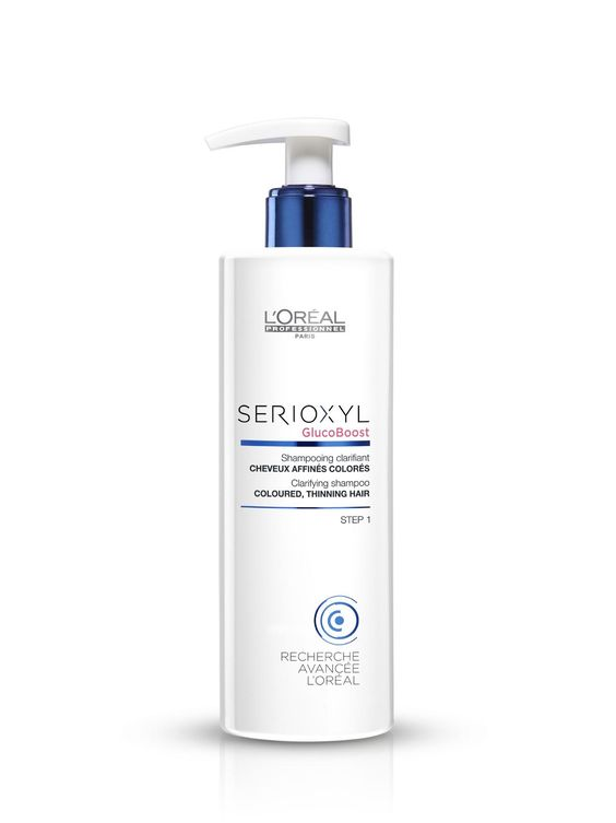 L'Oréal Professionnel Serioxyl Clarifying shampoo for Coloured, Thinning Hair 250ml.