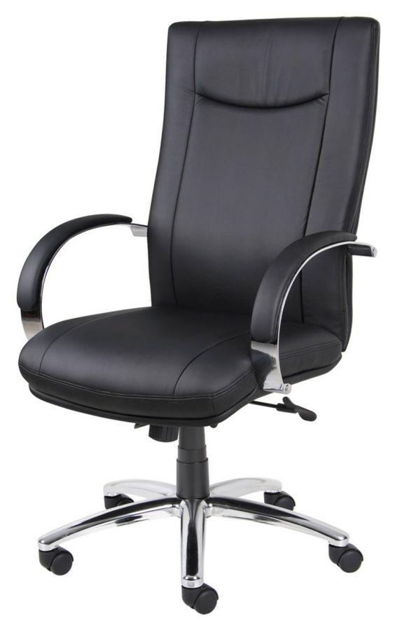 Günstige Bürostühle und Bürosessel – Vor- und Nachteile - Günstige Bürostühle und Bürosessel schwarz office büro leder